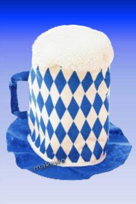 Bayern - BIERHUT - blau/weiss - Oktoberfest