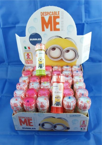 Minions<br> Seifenblasen im<br>Display