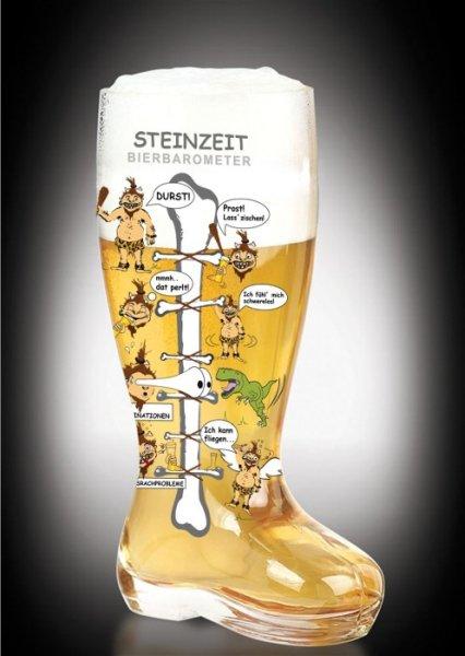 grandes bottes de bière 1,4 litres avec drôle Impr