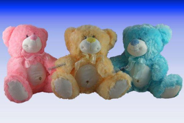 Peluche - Pastel - ours avec nombril, 30 cm
