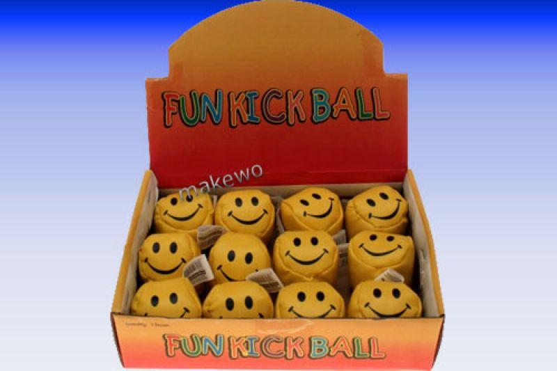 Kickball - Knautschball im Display