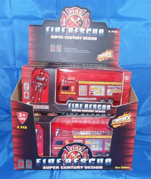 Pompiers - Camion avec Fireman