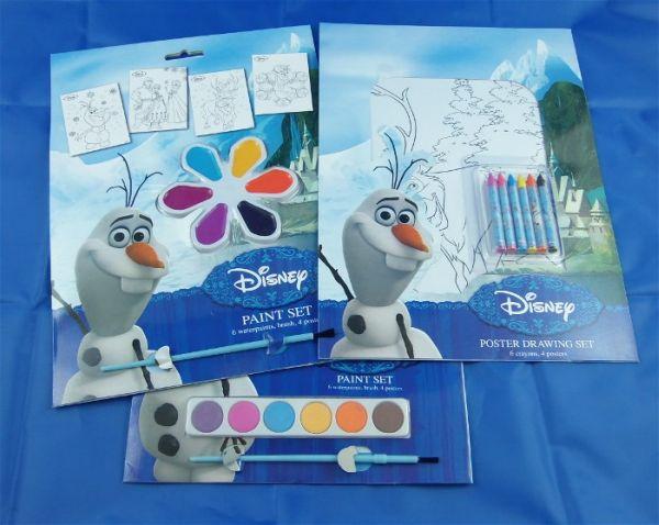 Malset Disney FROZEN 3-fach, 32 x 23 cm