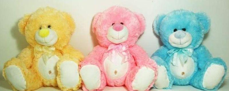 Peluche - Pastel - Bear avec le nombril, 30 cm
