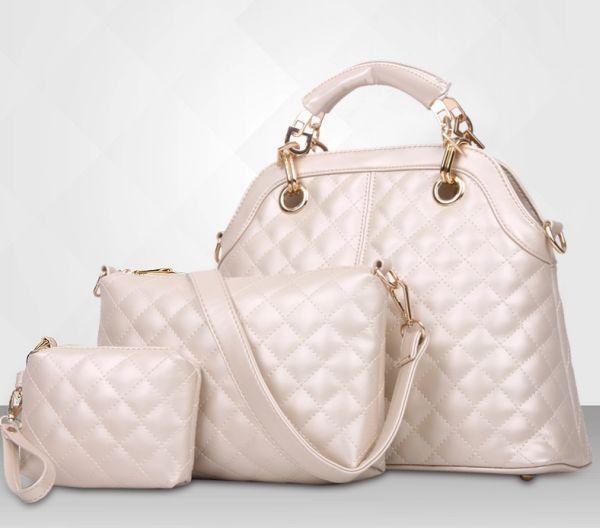 Handtaschen Set<br>3-teilig in beige