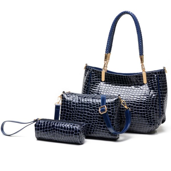 Handtaschen Set Blau