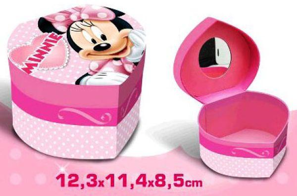 Heart Shaped<br> Jewellery Box<br>Disney Minnie