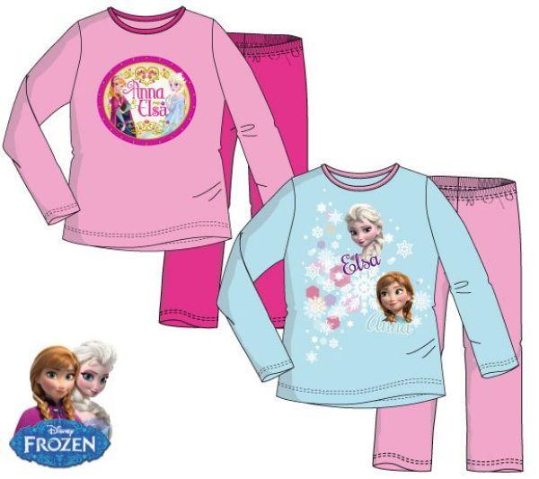 Kinder lange<br> Schlafanzug Disney<br>Frozen, Gefrorene