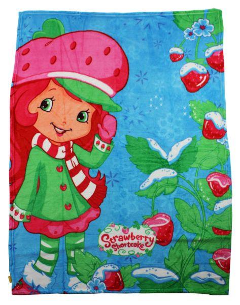 Plüsch-Decke<br> Erdbeerkuchen,<br>Erdbeer 120 * 150cm