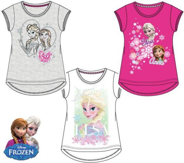 Kinder-T-Shirt,<br> Top Disney<br> Gefroren, Frozen ...