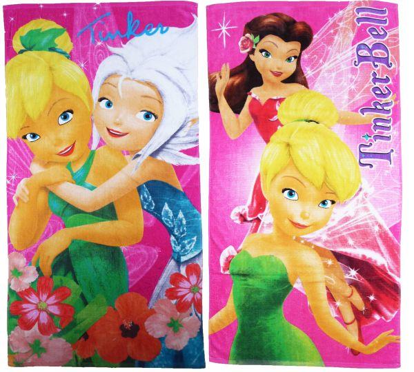 Disney Fée<br> Clochette<br> serviette de bain ...