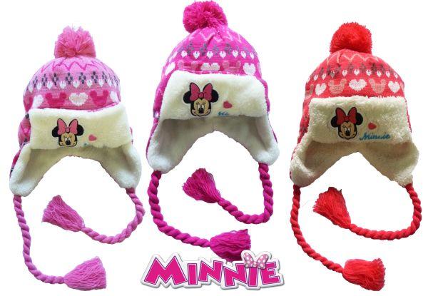 Kinder gefüttert<br> Mütze Disney<br>Minnie 52-54cm