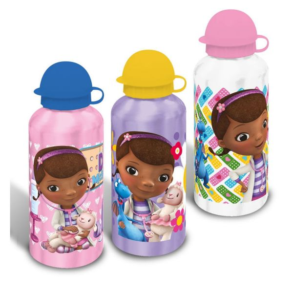 Aluminum bottle<br> Disney Doc<br>McStuffin 500ml