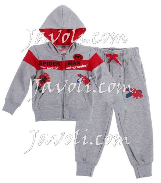 Child warmers,<br> jogging sets<br>Spiderman 2-6 years