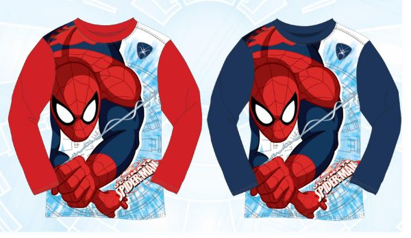 Children&#39;s<br> long-sleeved<br> T-shirt Spiderman, ...