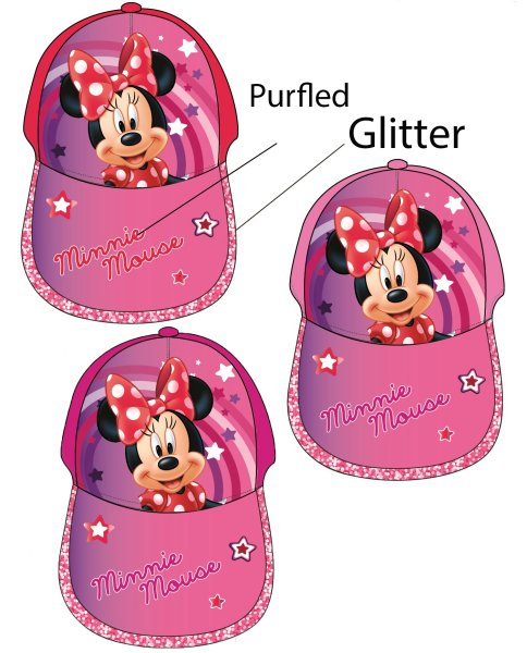 Disney Minnie<br> Kinder<br>Baseball-Cap 50-54cm