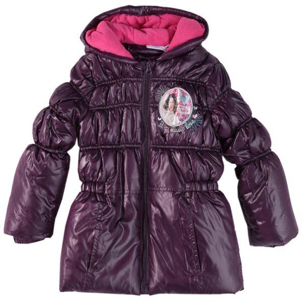 Veste matelassée<br> pour enfants<br>Disney Violetta Viol