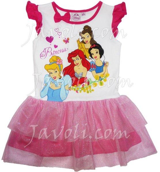 Odzież dla dzieci<br> lato Disney<br>Princess, Princess