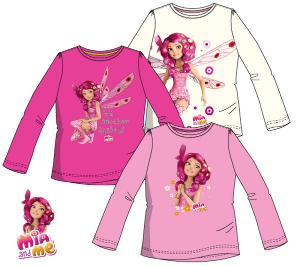 Kinder langes<br> T-Shirt, Top, Mia<br>and Me 98-128cm
