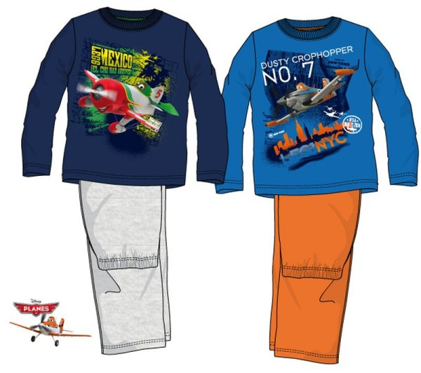 Baby long pajamas<br> Disney Planes<br>98-128cm