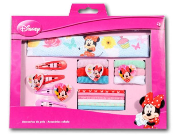Disney barrette,<br>hair band set