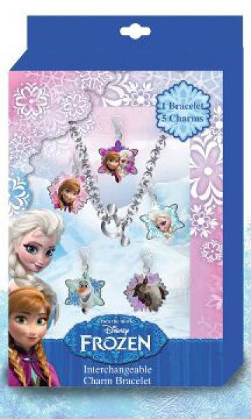 Disney Frozen,<br> Frozen bracelet<br>pendant + 5