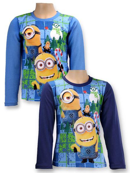 Children&#39;s<br> long-sleeved<br> T-shirt Minions ...