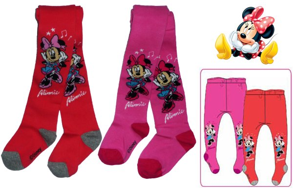 Stocking Disney<br> Baby Minnie 92-134<br>cm
