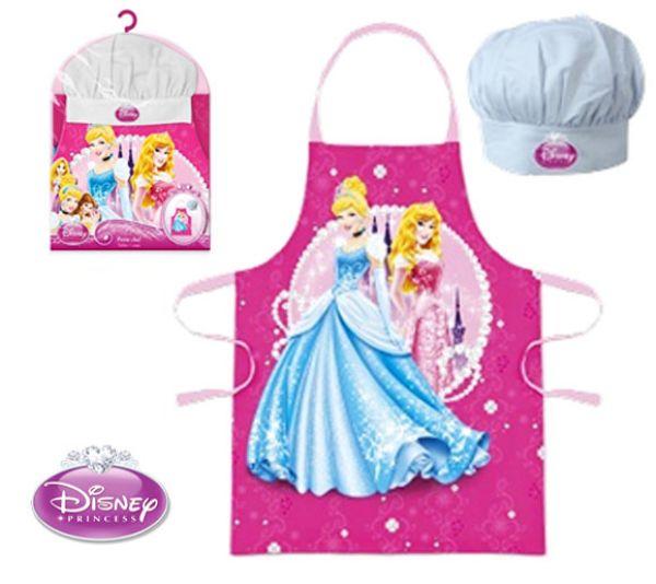Children&#39;s<br> Apron 2-piece set<br>Disney Princess