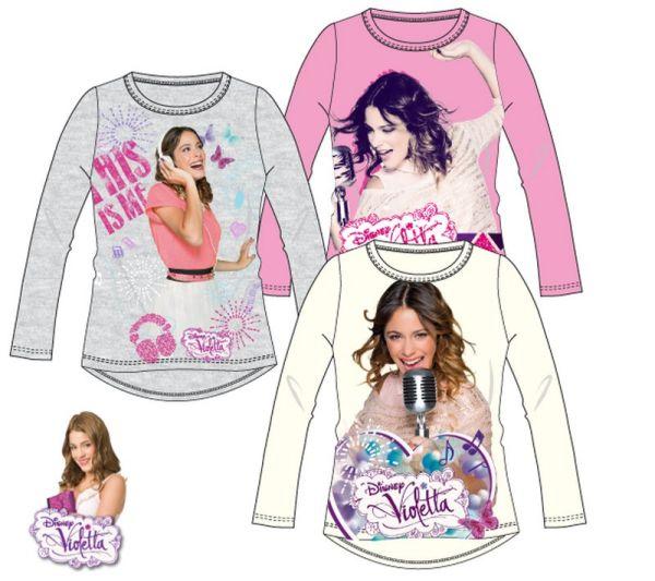 Gyerek hosszú ujjú<br> póló Disney<br>Violetta 6-12 év