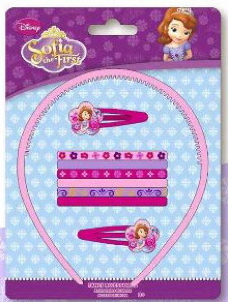 Disney Sofia,<br> Sofia hair clips,<br>headbands set