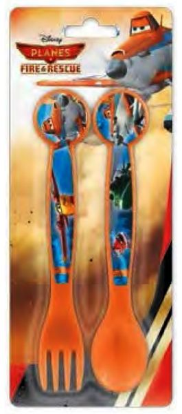 Cutlery Set - 2<br>Piece Disney Planes