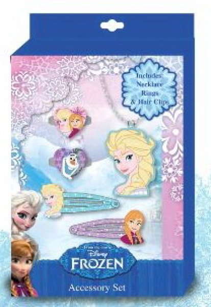Disney frozen,<br> Frozen 5-piece<br>jewelry set