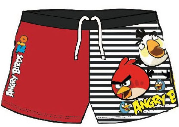 Angry Birds baby<br> bathing shorts,<br>short 98-134cm