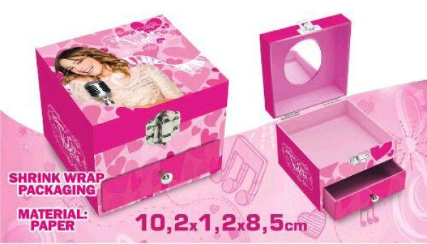 Box Biżuteria<br> Disney Violetta (1<br>szuflada)