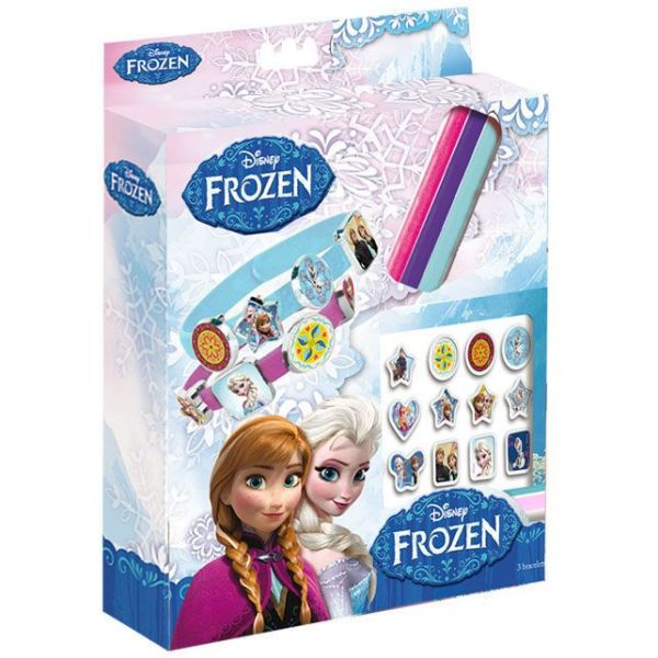 Disney frozen,<br> Frozen bracelet<br>making kit