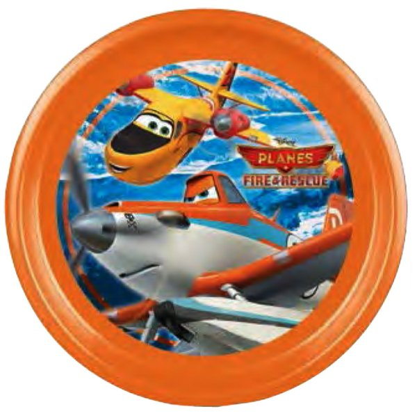 Disney Aircrafts,<br> Planes flat plate,<br>plastic