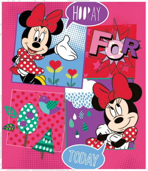 Fleece-Decke<br> Disney Minnie 120<br>* 140cm