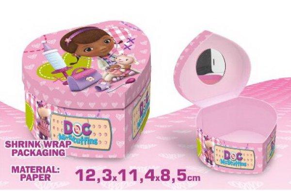 Heart Shaped Box<br> Biżuteria Disney<br>Doc McStuffin