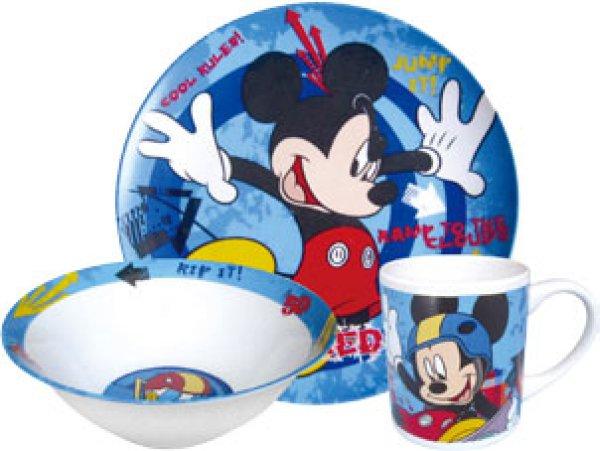 Kindergeschirr<br> Porzellan Disney<br>Mickey