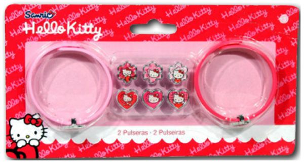 Hello Kitty<br>bracelet making kit