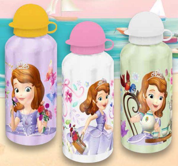 Aluminum bottle<br> Disney Sofia,<br>Sofia 500ml