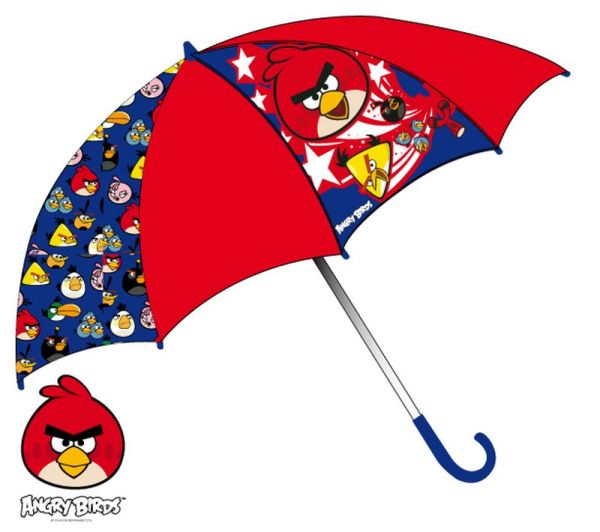 Children umbrella<br>Angry Birds 65 cm