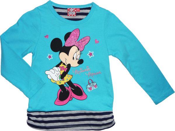 -Kinder-Langarm-T<br> Shirt Disney<br>Minnie 98-134cm