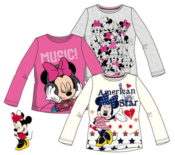 À manches longues<br> T-shirt pour<br>enfants Disney Minn