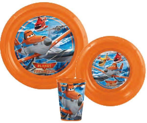 Disney Planes<br>tableware, plastic