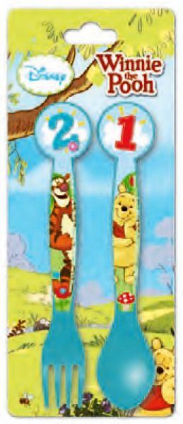 Besteck - 2 Stück<br> Disney Winnie the<br>Pooh