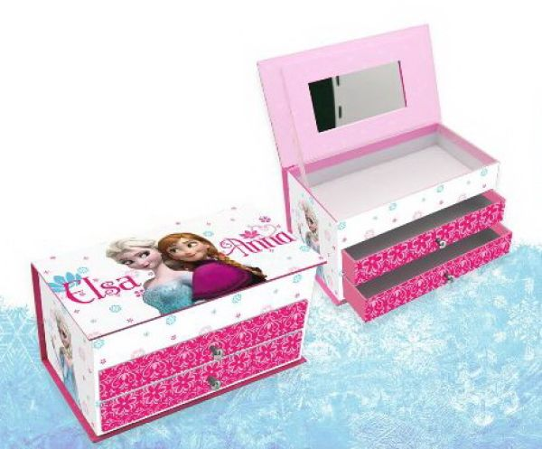 Holder Jewelry Box<br> Disney Frozen (2<br>drawers)