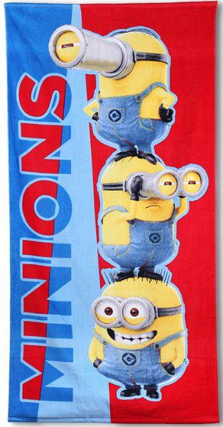 Minions Badetuch<br>Badetuch 70 * 140cm