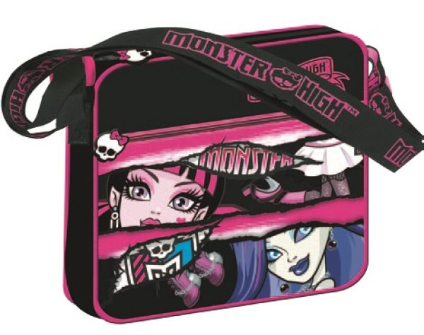 Monster High,<br> torba na ramię<br>24,3 x 21,8 x 5 cm